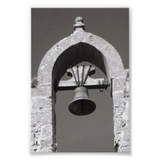 Fotografía A4 4x6 blanco y negro de la letra del Foto