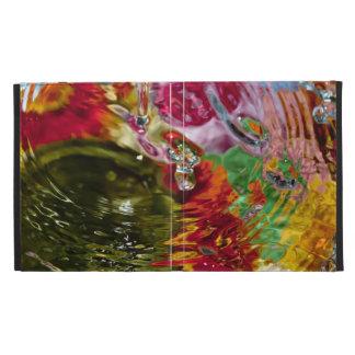 Fotografía abstracta de las aguas coloridas