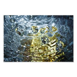 Fotografía abstracta del agua fotografía