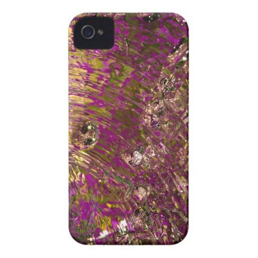 Fotografía abstracta del agua iPhone 4 Case-Mate coberturas