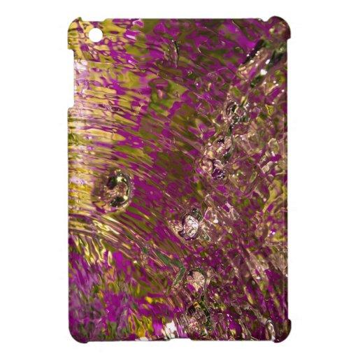 Fotografía abstracta del agua iPad mini cárcasas