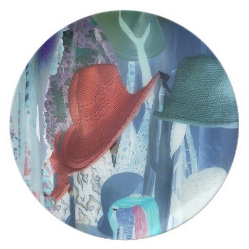 Fotografía abstracta - gorras sesgados con la fron plato para fiesta