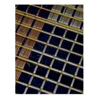 Fotografía abstracta tarjeta postal