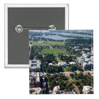 Fotografía aérea cuadrada de Lafayette Pins