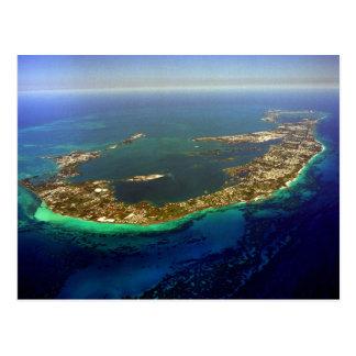 Fotografía aérea de Bermudas Postal