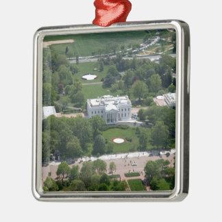 Fotografía aérea de la Casa Blanca Ornamento De Navidad