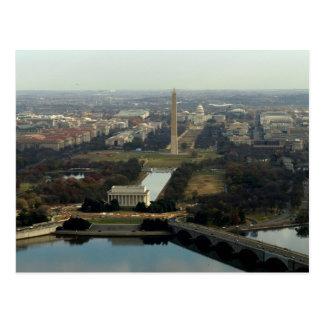 Fotografía aérea del Washington DC Tarjetas Postales