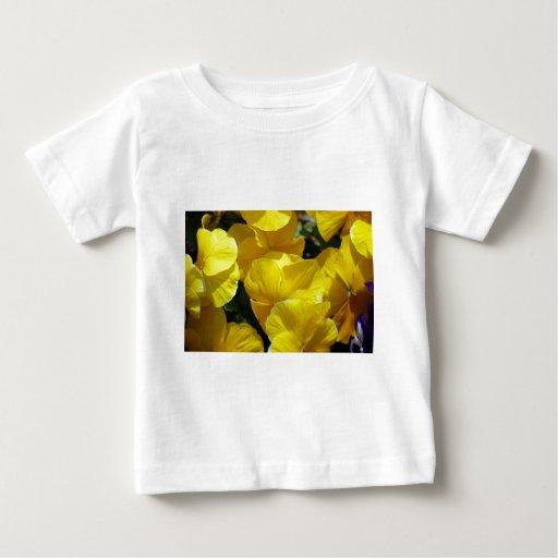 FOTOGRAFÍA AMARILLA de las FLORES de los Tshirts