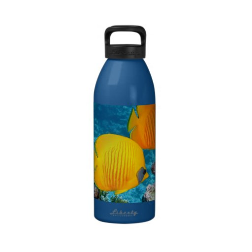 FOTOGRAFÍA amarilla tropical exótica de 380037 pes Botellas De Agua Reutilizables