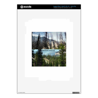Fotografía americana del paisaje iPad 3 pegatinas skins