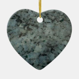Fotografía azul de la textura del granito ornamentos de navidad