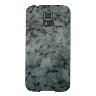 Fotografía azul de la textura del granito fundas para galaxy s5