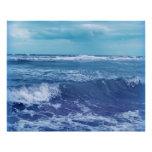 Fotografía azul del cielo de las nubes de ondas de