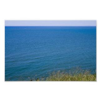 Fotografía azul del océano arte fotográfico