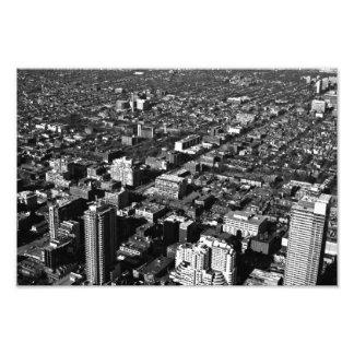 fotografía blanco y negro de la ciudad de Toronto Fotografía