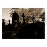 fotografía blanco y negro del paisaje tarjeton