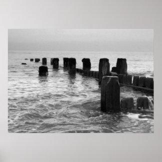 """Fotografía blanco y negro - """"trituradores de la pl impresiones"""