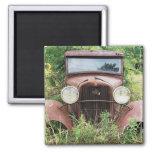 Fotografía clásica del cubo del moho del coche del imanes para frigoríficos