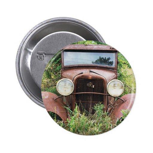 Fotografía clásica del cubo del moho del coche del pins