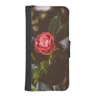 Fotografía color de rosa rosada retra, romántico, billeteras para teléfono