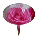 Fotografía color de rosa y de Lilly Decoración Para Tarta