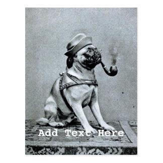 Fotografía con clase del barro amasado del vintage tarjetas postales