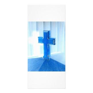 Fotografía cruzada de madera, tinte azul, iglesia lonas publicitarias