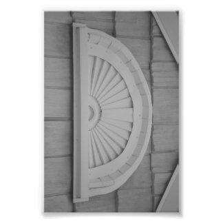 Fotografía D1 4x6 blanco y negro de la letra del Fotografías