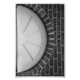 Fotografía D8 4x6 blanco y negro de la letra del a