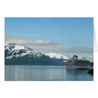 Fotografía de Alaska del viaje de las vacaciones Tarjeta De Felicitación