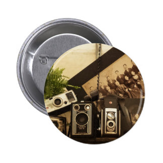 Fotografía de antaño pin redondo 5 cm