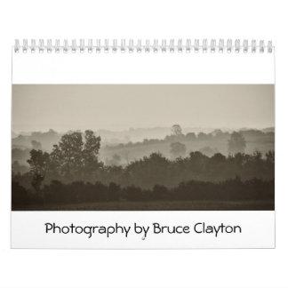 Fotografía de Bruce Clayton Calendarios