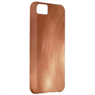Fotografía de cobre sólida como caso del iPhone Carcasa Para iPhone 5C