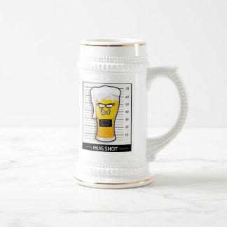 Fotografía de detenido jarra de cerveza