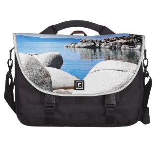 Fotografía de encargo del puerto de la arena del l bolsas de ordenador