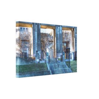 Fotografía de HDR - paseo del canal de Indianapoli Lienzo Envuelto Para Galerias