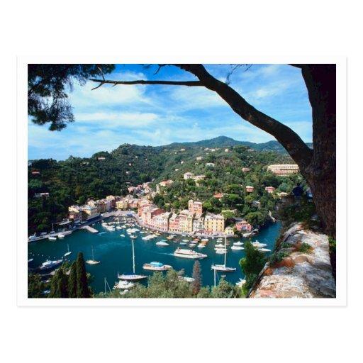 Fotografía de Italia de la costa de mar Postal