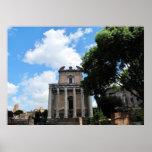 Fotografía de Italia, Roma, foro romano Poster