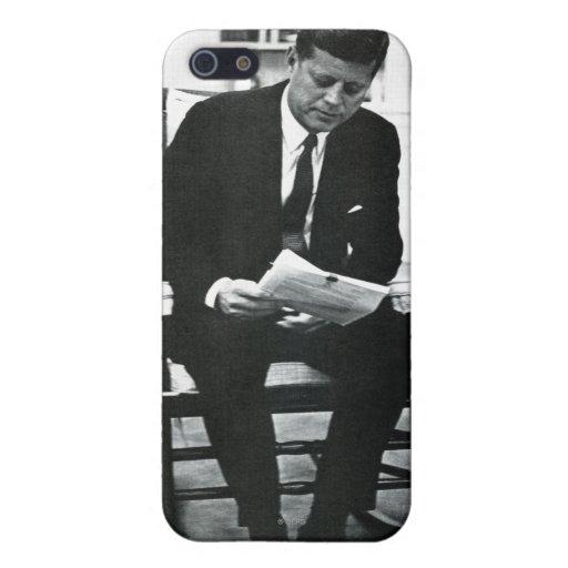 Fotografía de John F. Kennedy 2 iPhone 5 Carcasas