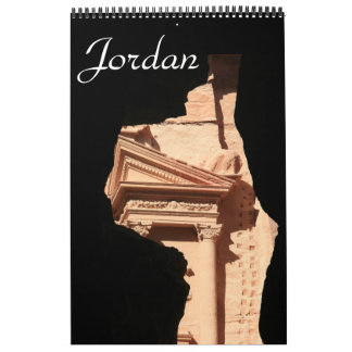 fotografía de Jordania Calendario