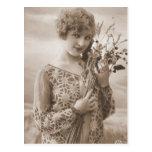 Fotografía de la aleta del vintage (150) postal