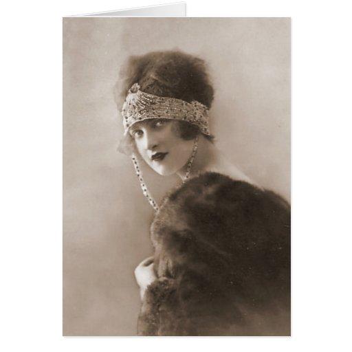 Fotografía de la aleta del vintage (67) tarjeta