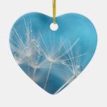 Fotografía de la bella arte de los azules del dien adorno de navidad