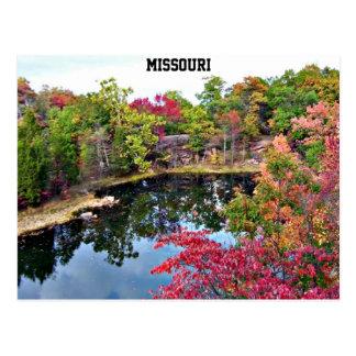 Fotografía de la caída de Missouri Postales