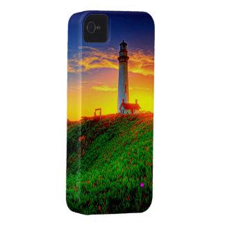 Fotografía de la definición de la puesta del sol funda para iPhone 4