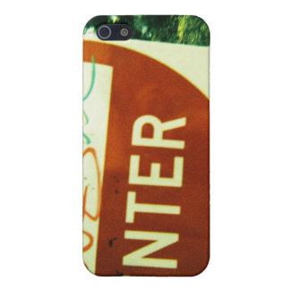 """Fotografía de la """"entrada NRL - caja de la mota de iPhone 5 Fundas"""