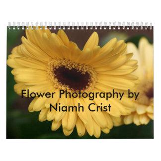 Fotografía de la flor de Niamh Crist Calendario