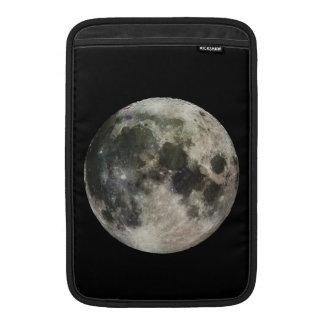 Fotografía de la Luna Llena Funda MacBook