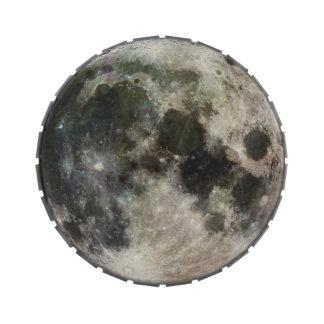 Fotografía de la Luna Llena Latas De Dulces