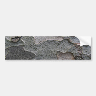 Fotografía de la macro de la corteza de árbol pegatina de parachoque
